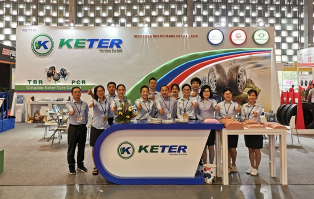 KETER TYRE ON 2019 CITEXPO-GREENTRAC BRAND DEBUT